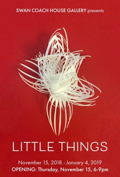 Little Things exhibition at Swan Coach House Gallery
